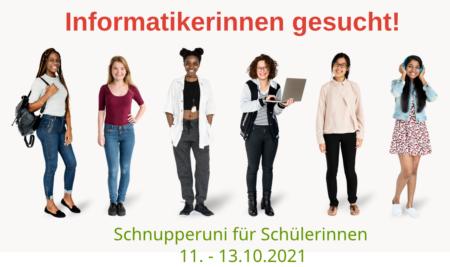 SchnupperUni Informatik für Mädchen